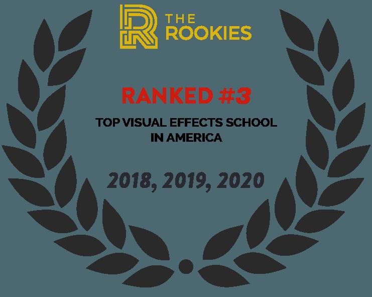 2020 The Rookies Top visual effect school #3