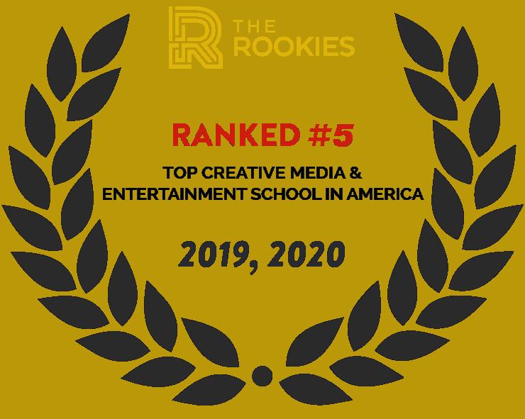 2020 The Rookies Top Creative Media & Entertainment School in America #5