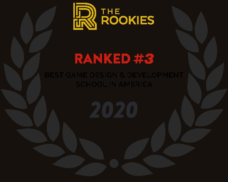 2020 The Rookies Best Game Design & Development school #3