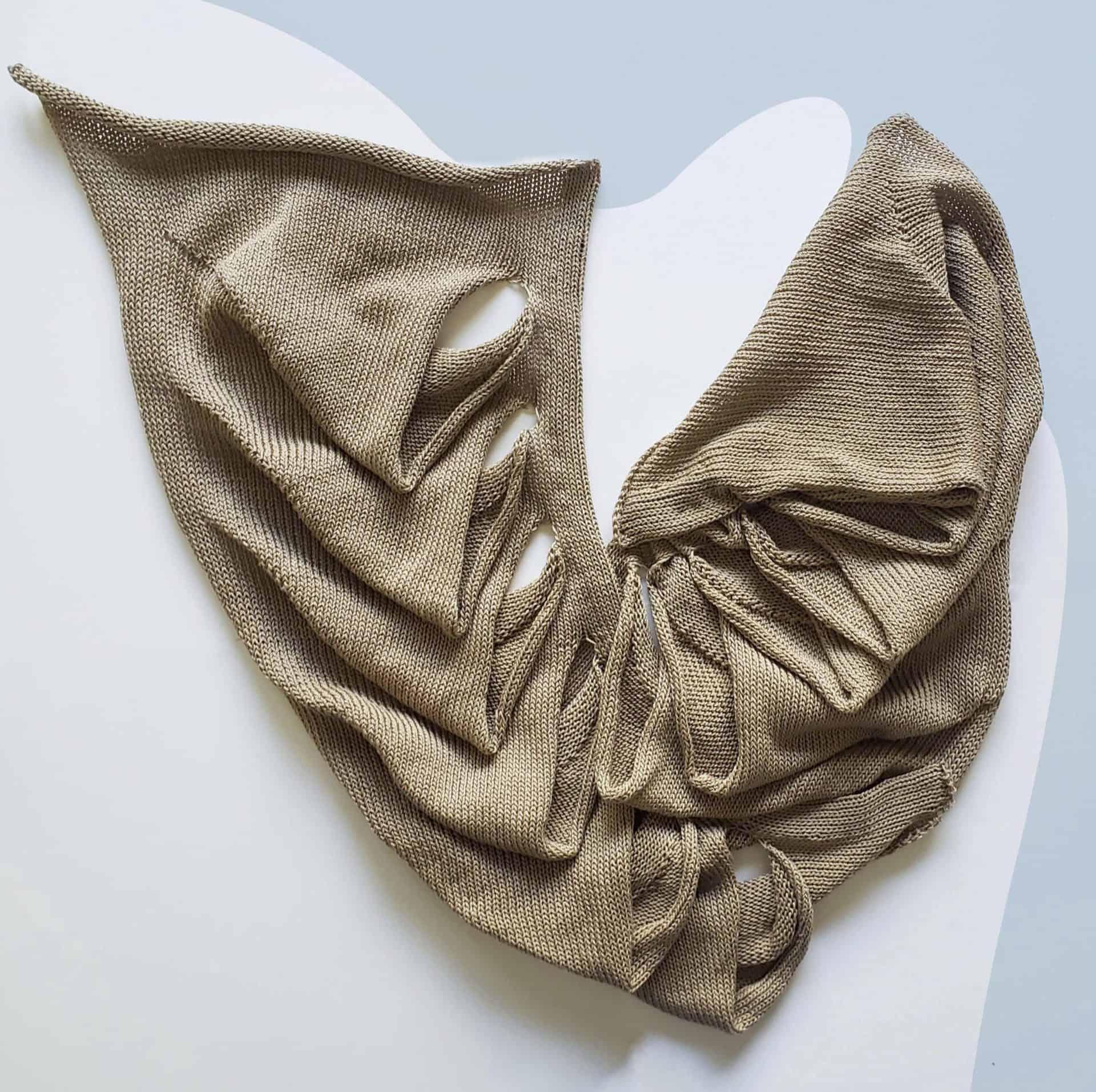 Featured Work, Rashida Birdlong, BFA Knitwear Design