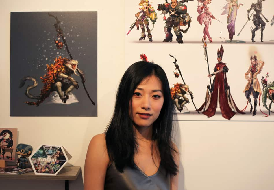 Bella Liu on her digital concept art