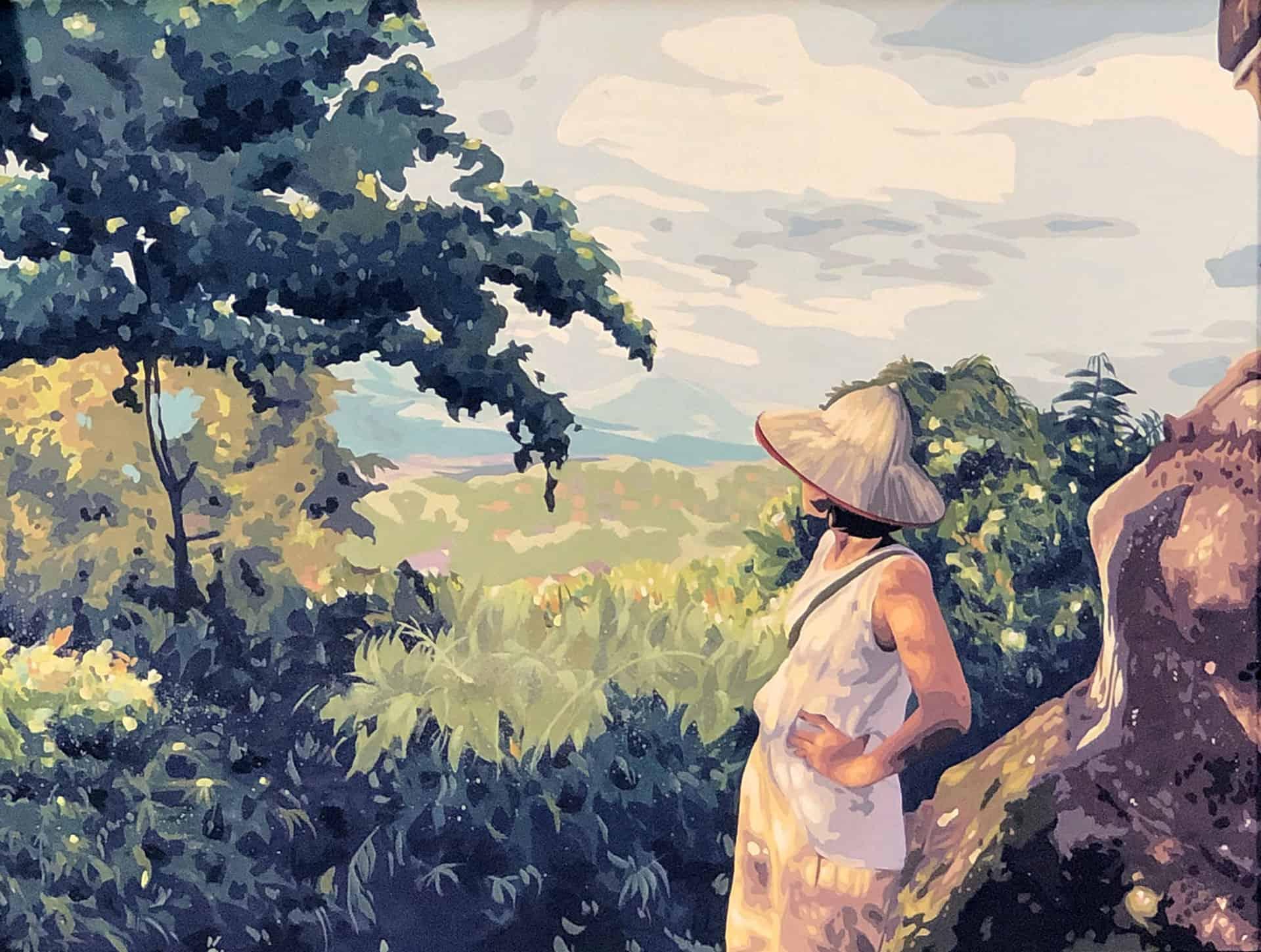 """Atmospheric Perspective"" by Bewrin Yoou"