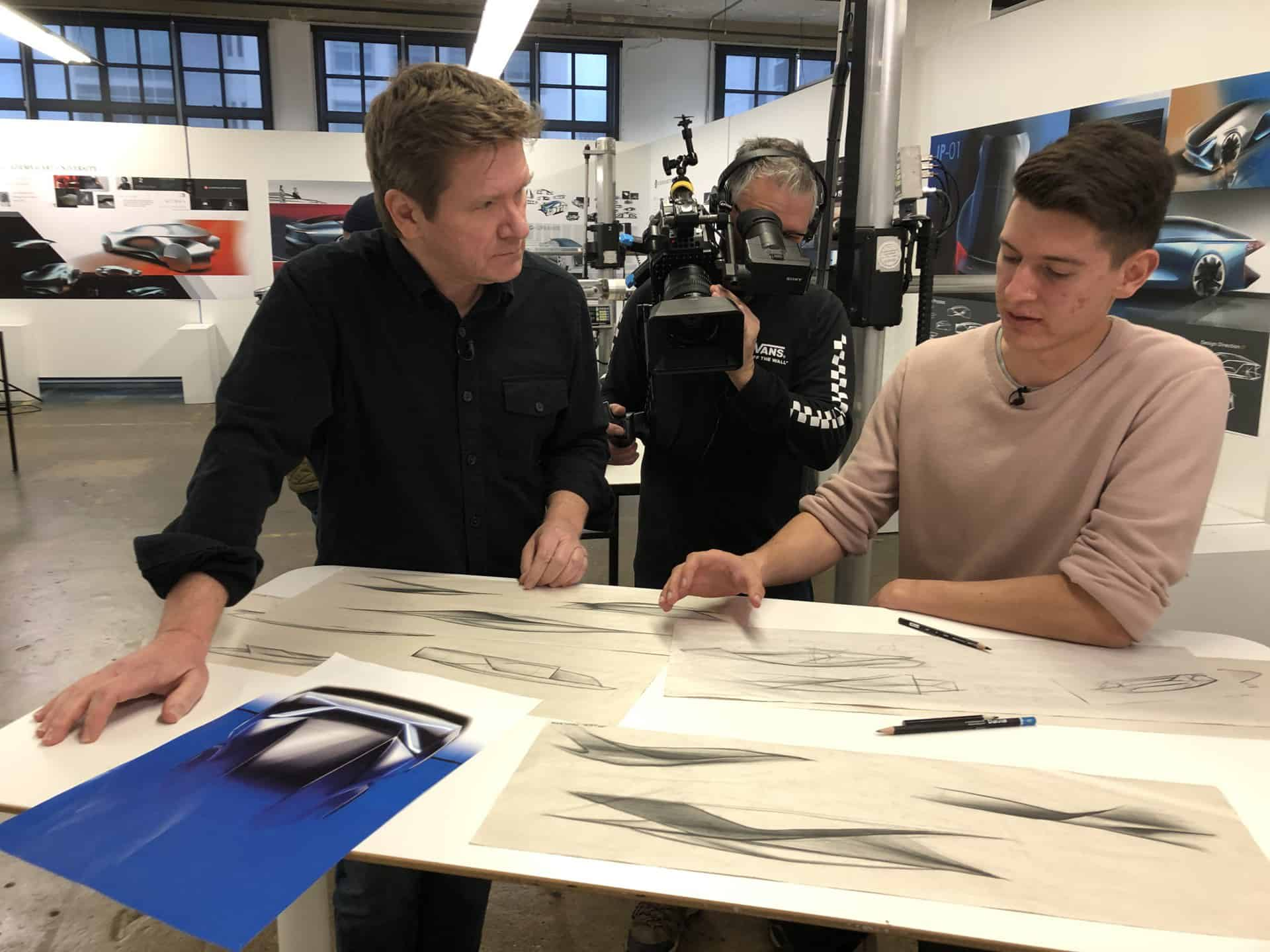 Industrial Design School Exec Director and Students Inspire TV's California by Design