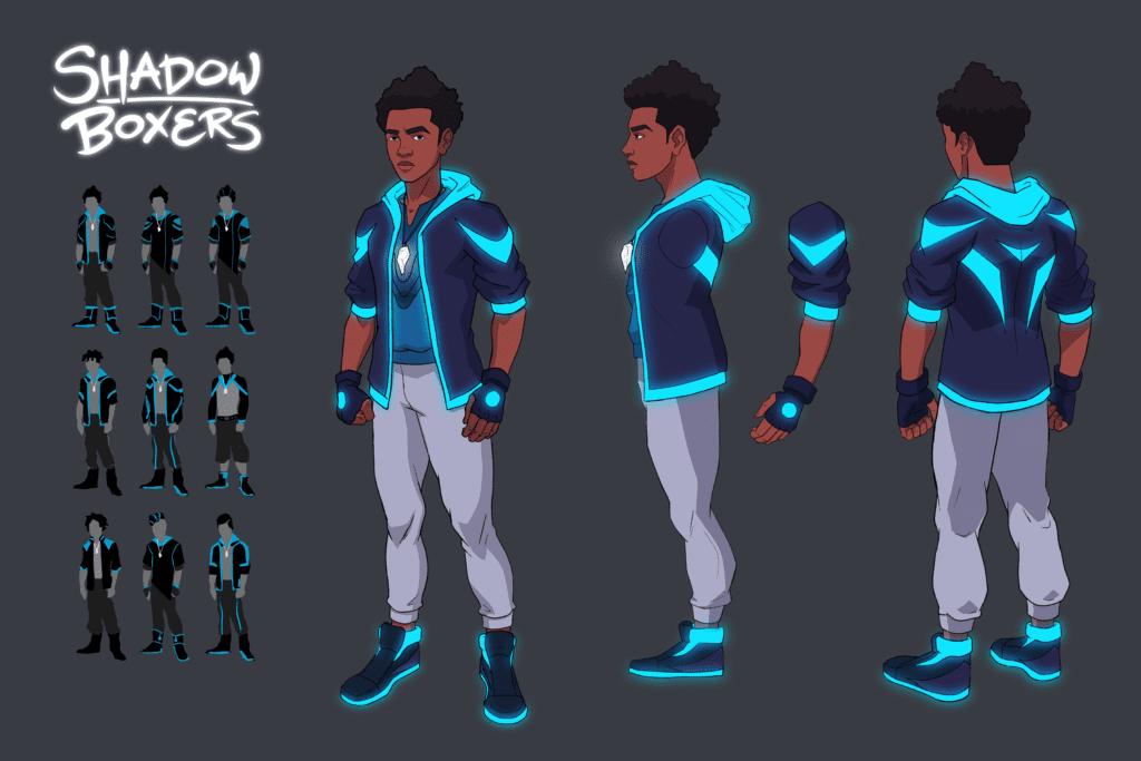 Jordan Character Design 2