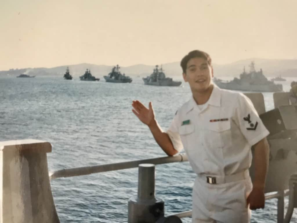 Markowitz, Dave, in the navy