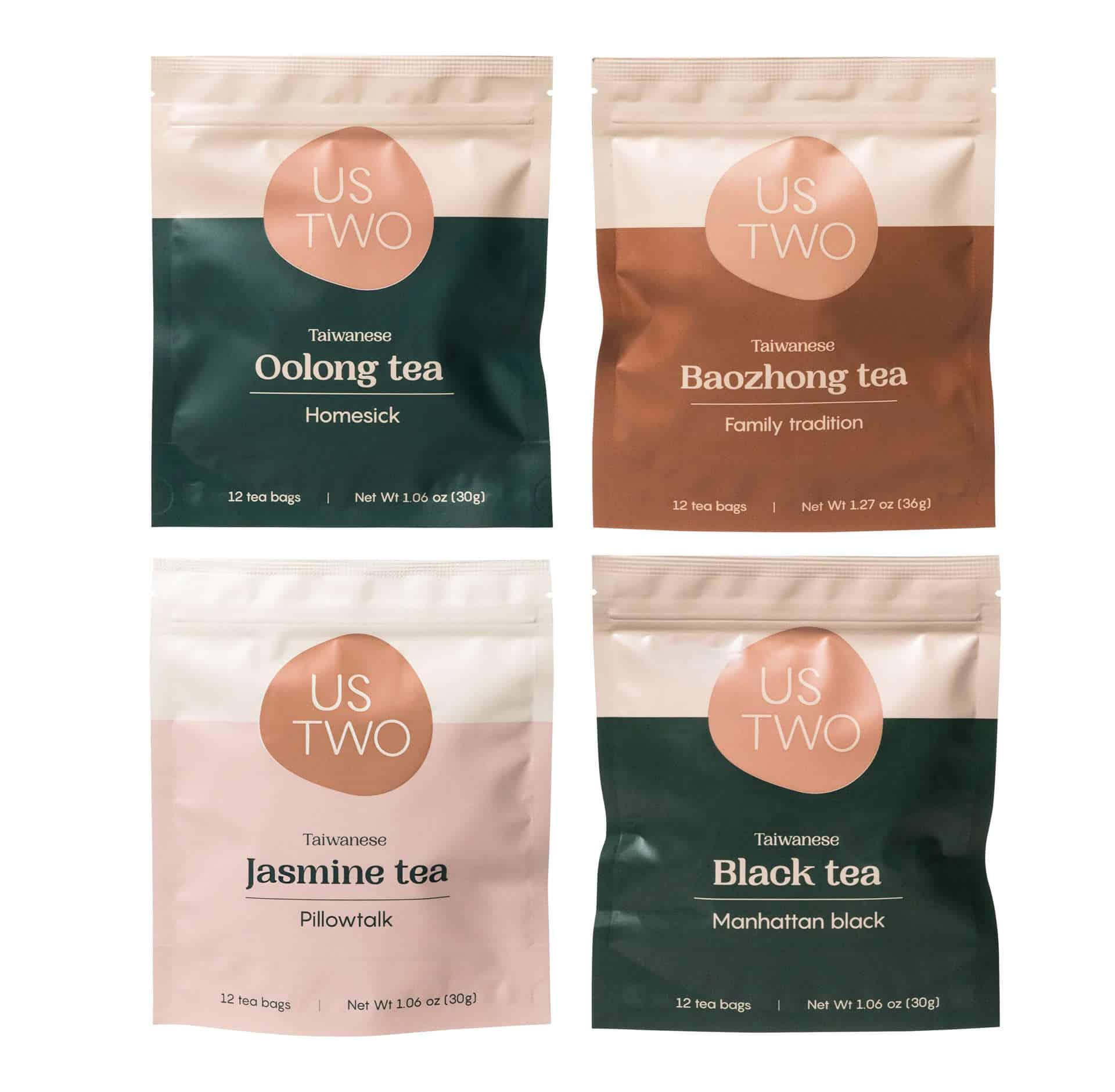 Maggie Xue - Us Two Tea Packaging