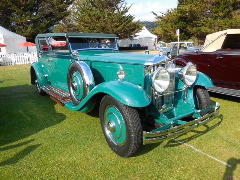 1931 Minerva AL Convertible Sedan