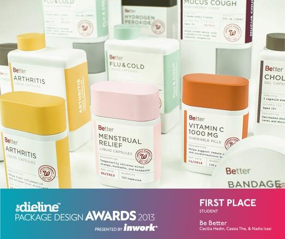 AAU Awards Packing Design 2013