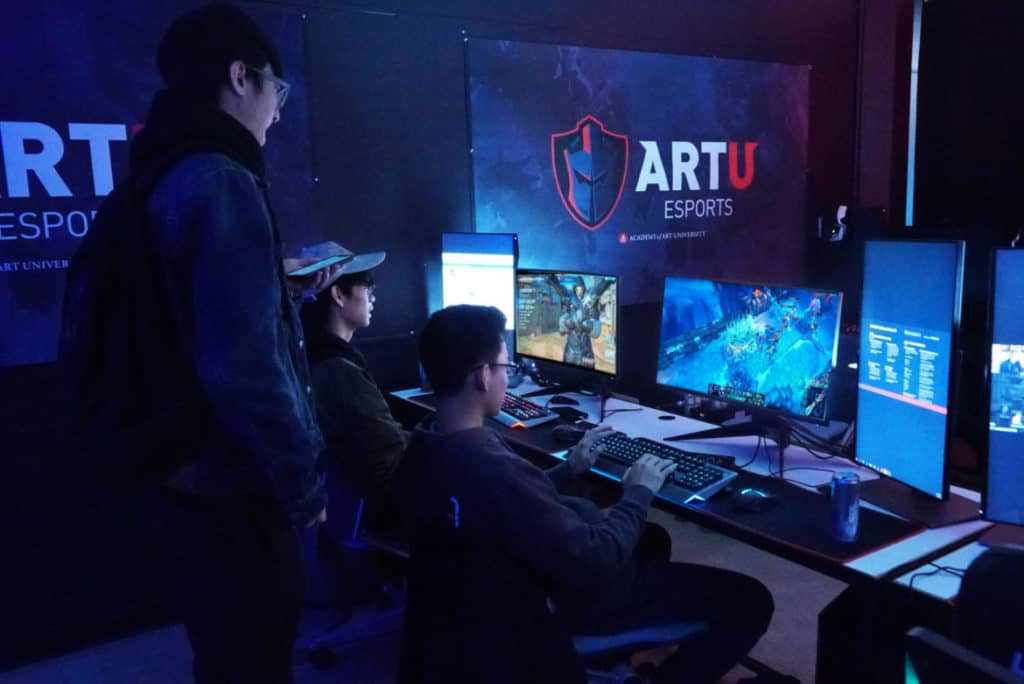 academy of art university game development