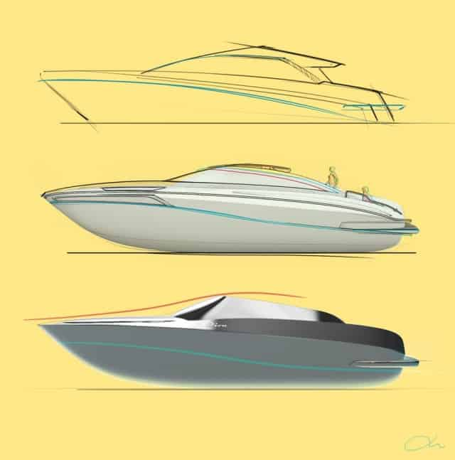 ariel jeong boat design for riva brand 1