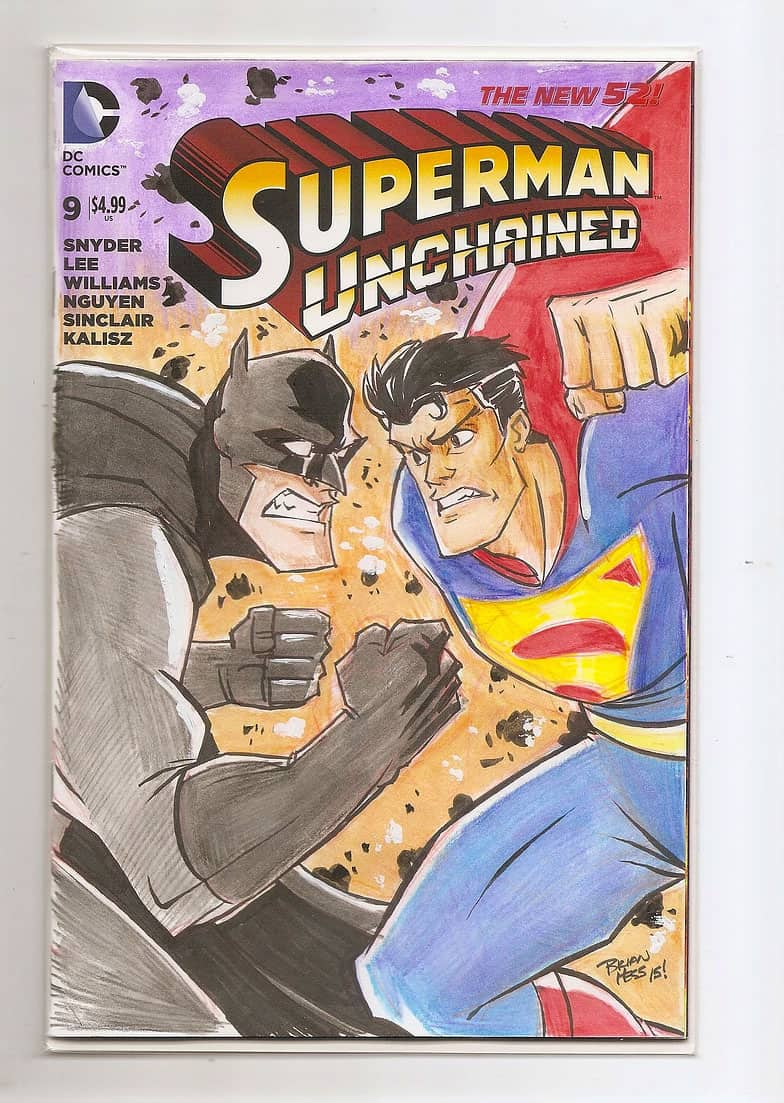 Brian Hess, Superman Unchained