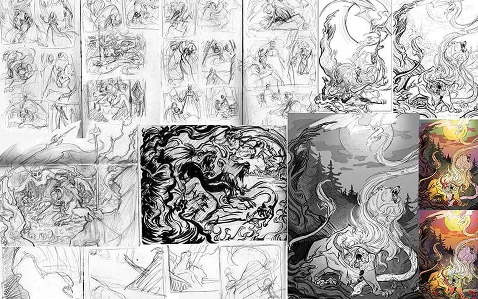 Interested in Comic Book Illustration?