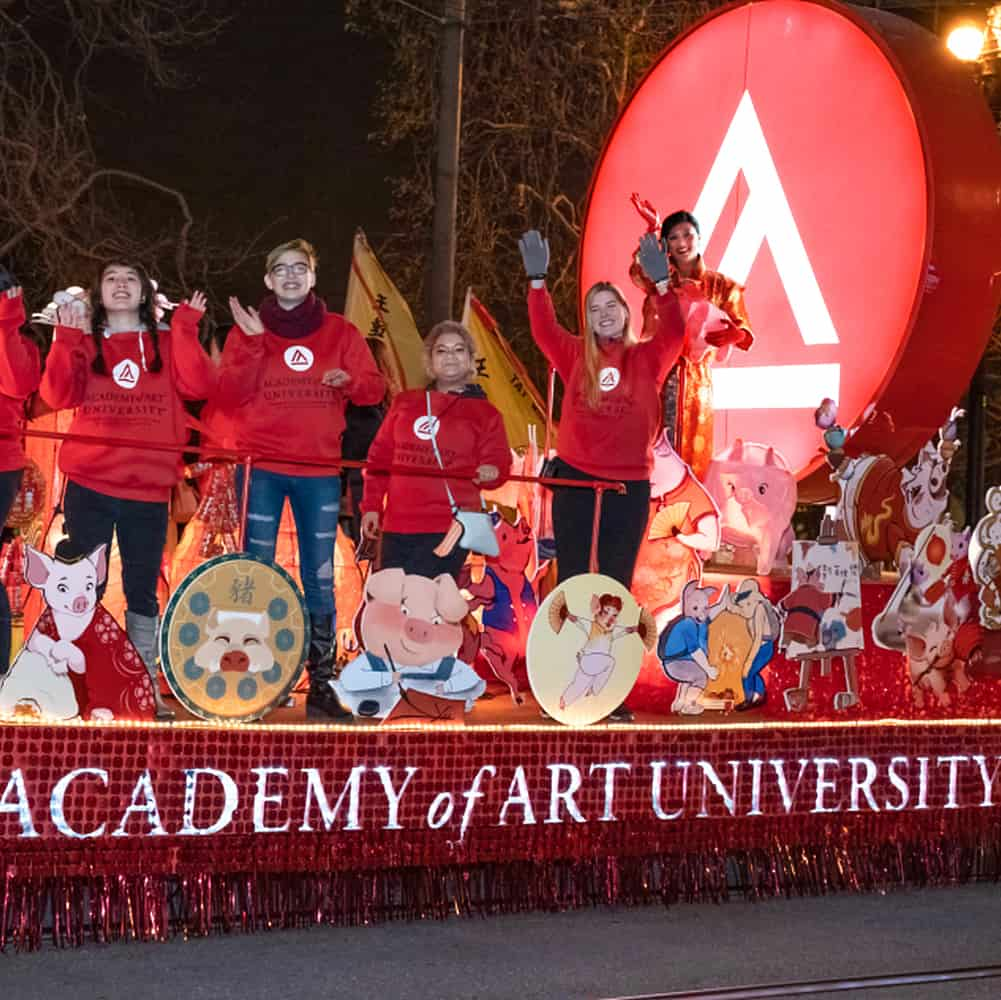 Academy of Art 2019 Chinese New Year float
