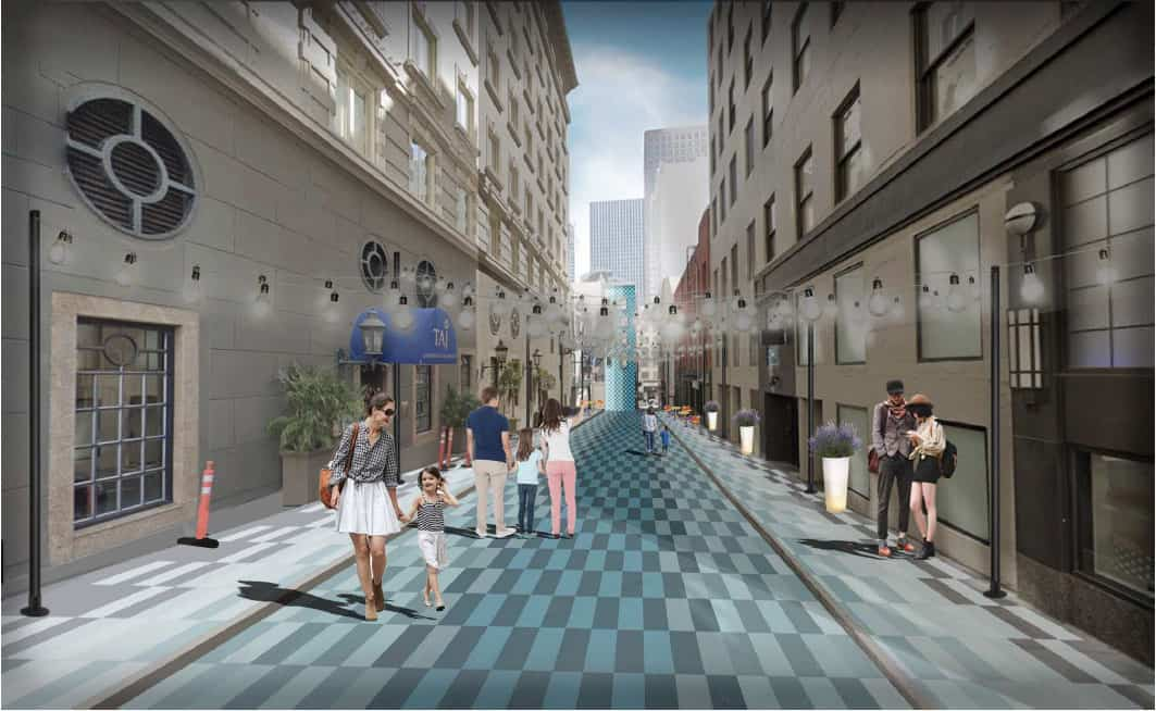 Landscape Architecture Students Envision an Urban Attraction in Campton Place