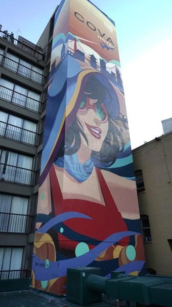 Cova Hotel Mural Day 2