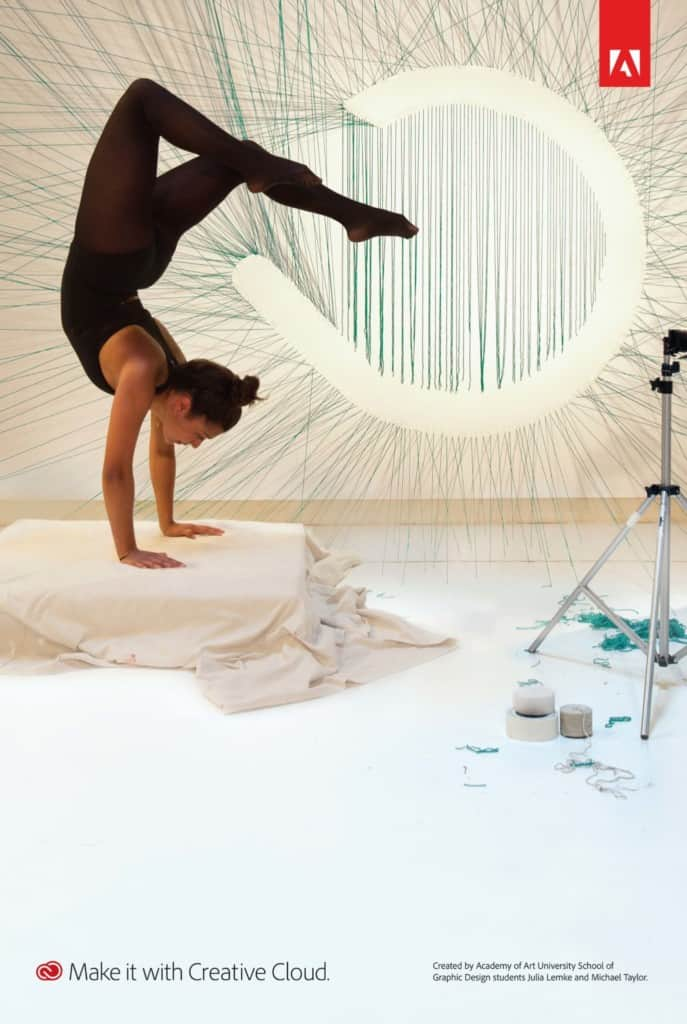 Creativity in the Cloud Handstand
