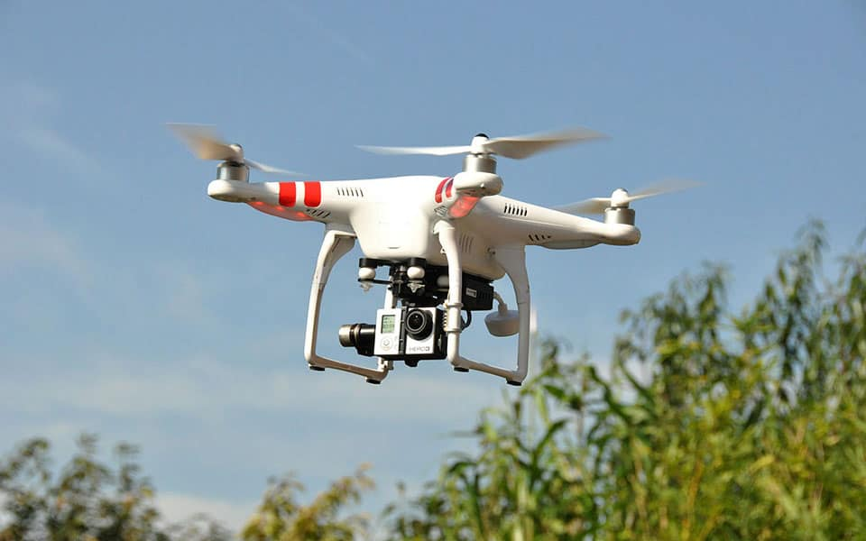 Communications Media Drone Production Class