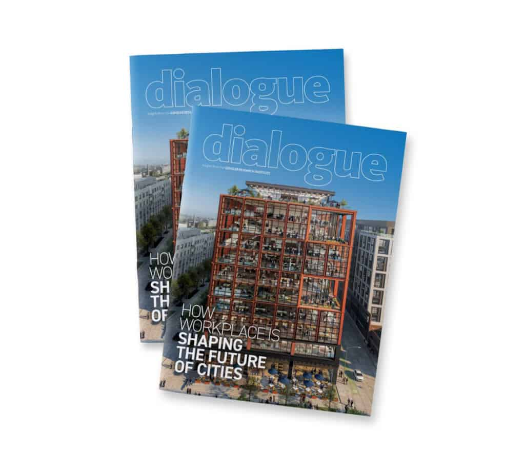 gensler dialogue magazine cover
