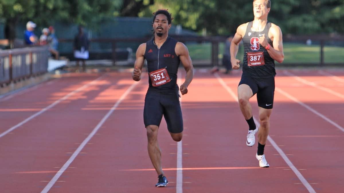 Grant Swinton Mens Track & Field