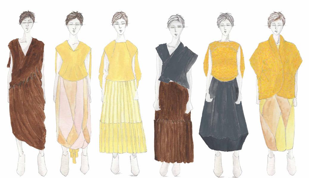 Mckaela Christenson BFA Knitwear Design BFA Illustrated Lineup