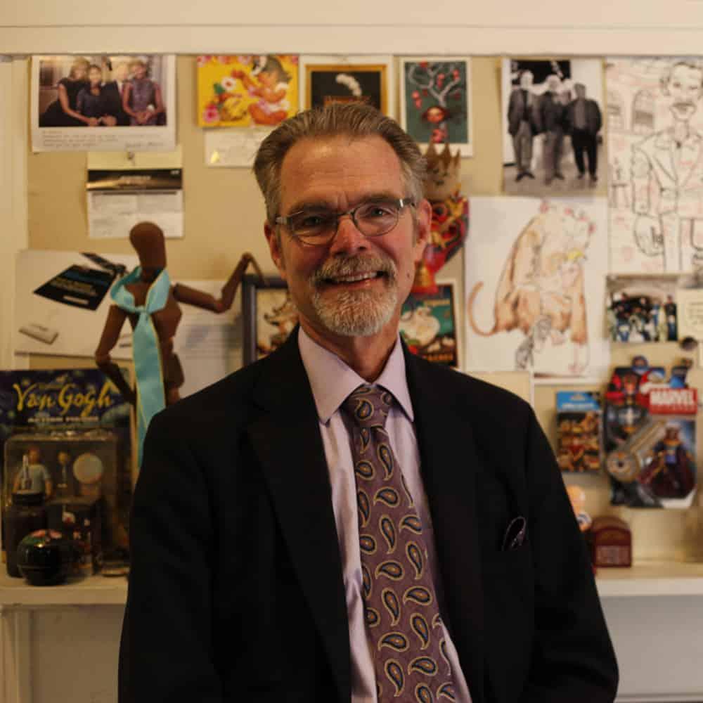 School of Illustration Director Chuck Pyle
