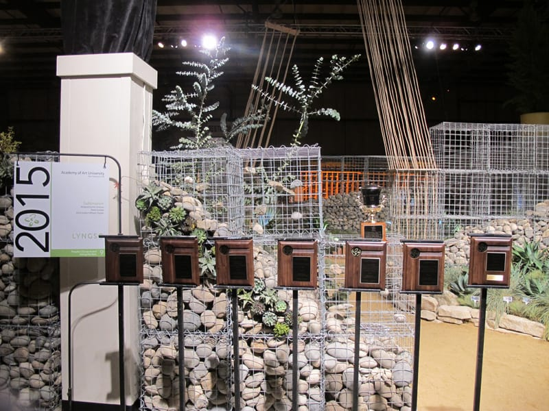Students Take Gold at SF Flower & Garden Show