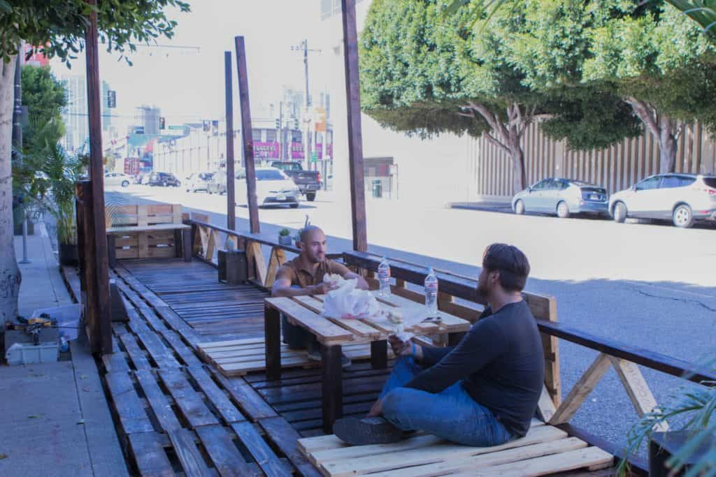PARK(ing) Day Project - Landscape Architecture