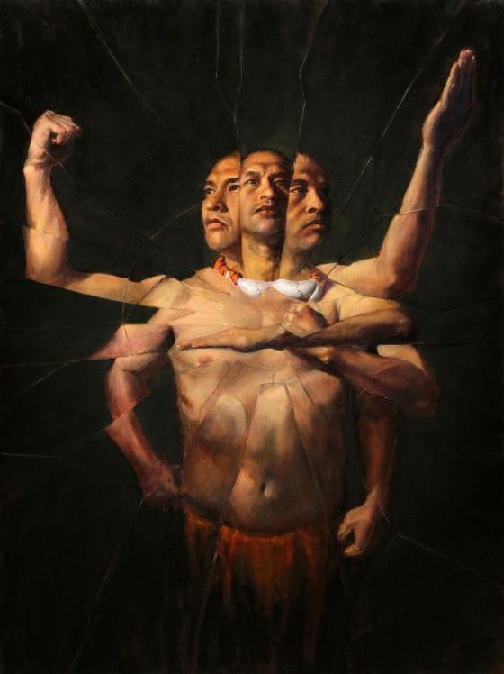 mafgo' (fractured) by jerrold castro