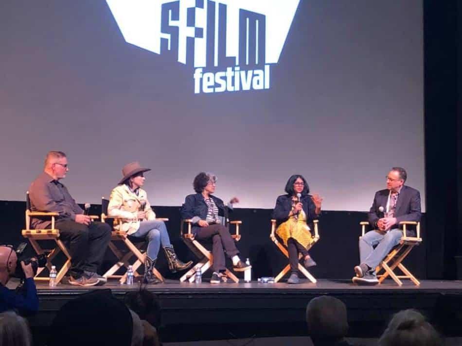 Janice Engel in San Francisco Film Festival panel