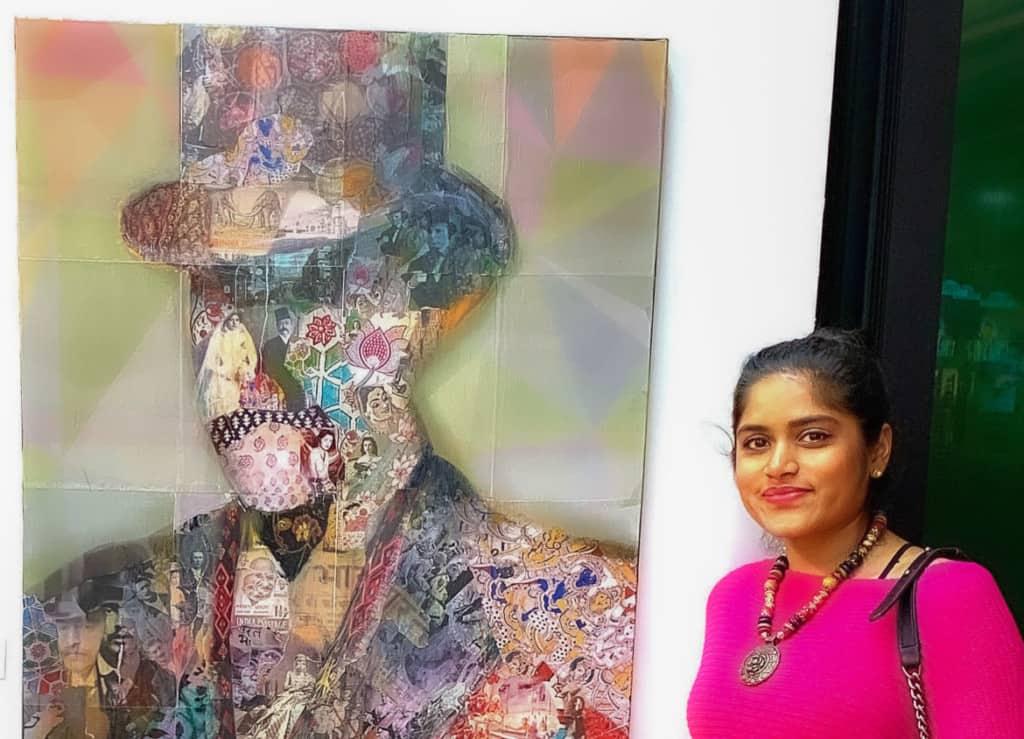 Nimisha Doongarwal 1 portrait exhibition