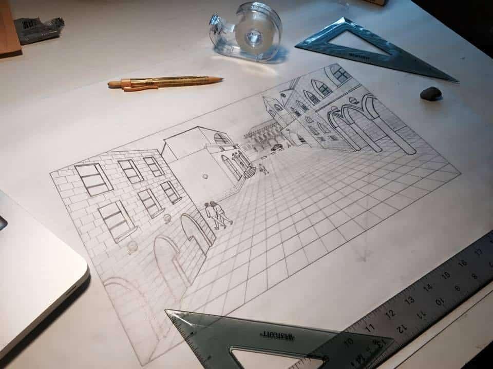 perspective-drawing-by-elham-sepehrjou
