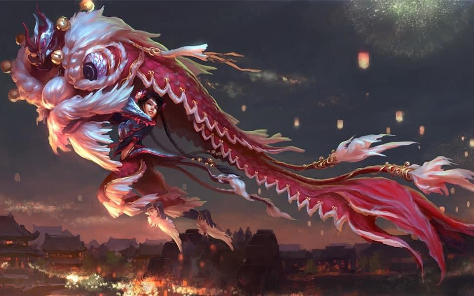 Shiyao Jiang Visual Development Chinese New Years Parade