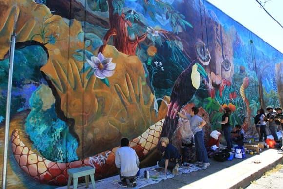 Urban Jungle Mural 2