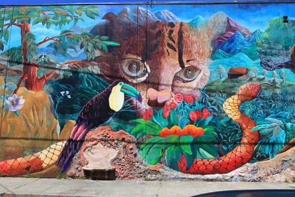 Urban Jungle Finished Mural