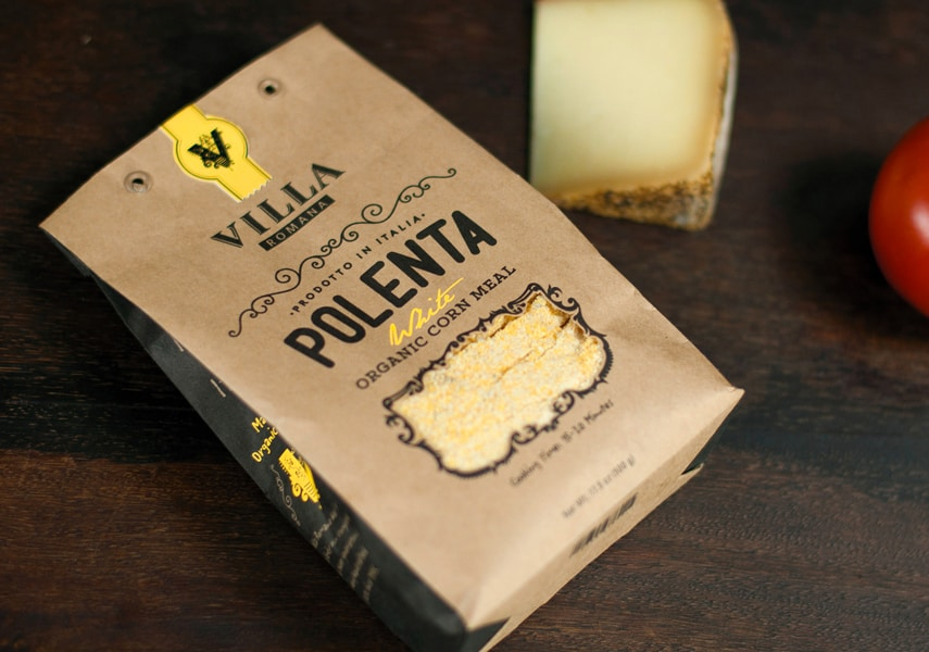 Villa Romana: Contemporary Packaging for Italian Classics